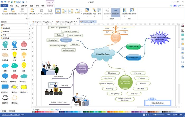 流程图绘制: 亿图图示 v9.0 破解版