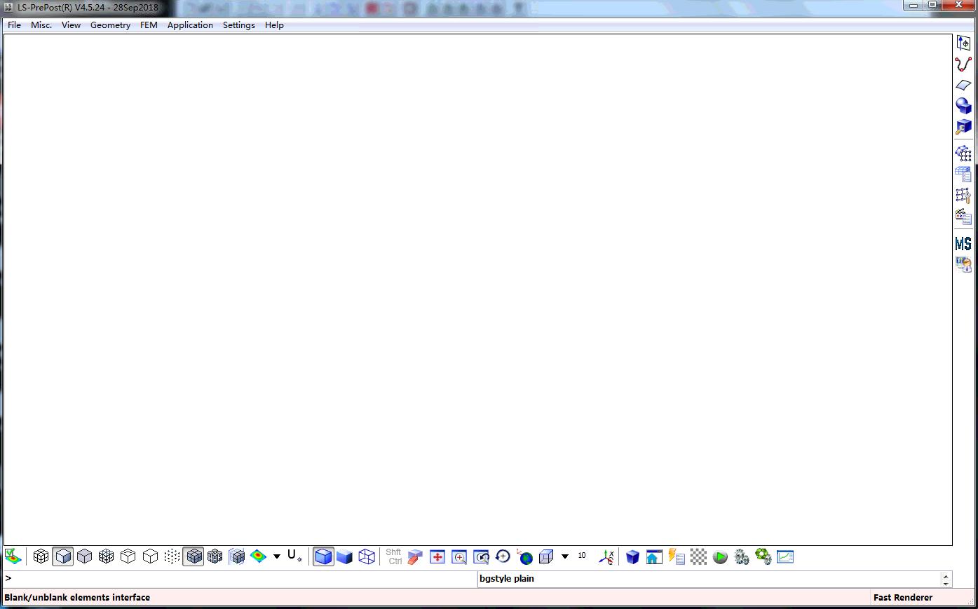 LS-DYNA配套前后处理器:LS-Prepos 独立版