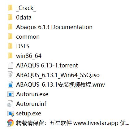 有限元分析软件 Abaqus 6.13+ 6.14破解版