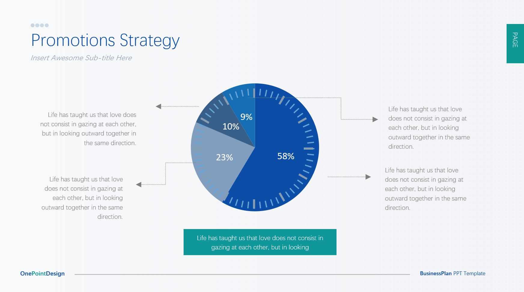 简约市场分析PPT+配套矢量图标